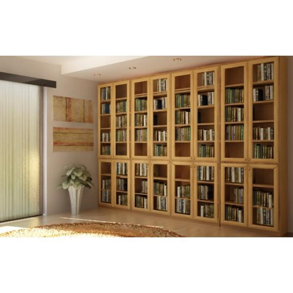 Раздвижные библиотеки - эргономичное решение для ваших книг.